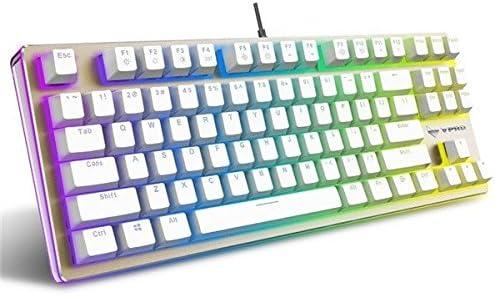 Pegasus Rapoo V500 RGB retroiluminación oro teclado Gaming ...