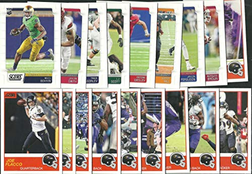 2019 Panini Score Football Baltimore Ravens Team Set 18 Cards W/Drafted Rookies]()