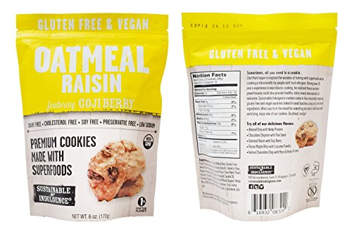 Vegan Oatmeal Raisin Cookies - 4