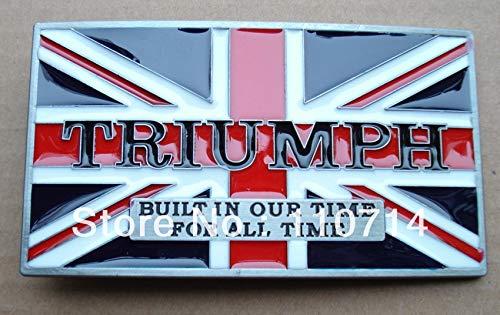 Buckes - New Buckle SW-B805 Motor Triumph Belt Buckle RED Color
