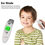 QQCute Digital Infrared Forehead Thermometer More