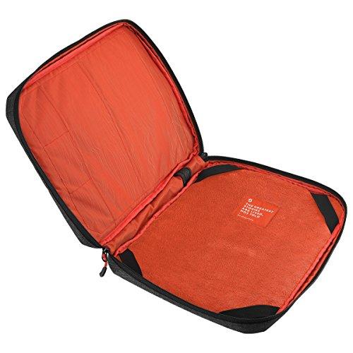 Scott Laptop Case 17'' Laptoptasche grau/schwarz/rot