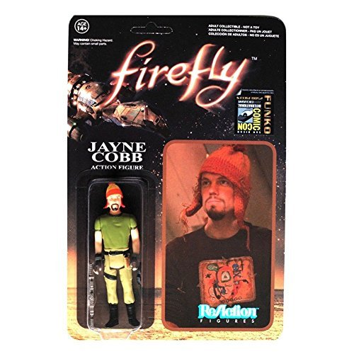 Firefly Jayne Cobb with Hat ReAction Retro Action Figure - SDCC Preview by Firefly/Serenity