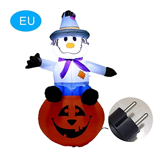 Goodtimera - Figura Hinchable de Halloween (120 cm, con Luces ...