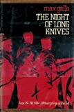 The Night of Long Knives, Max Gallo, 0060113979