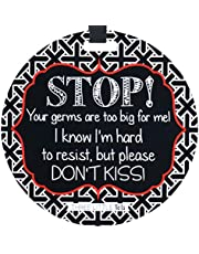(Three Little Tots) No Kissing Tag - Stop, Your Germs are Too Big for Me
