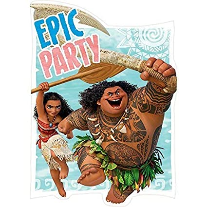 Image Unavailable Not Available For Color Moana Disney Hawaii Beach Princess Decoration Party