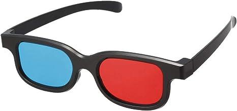 N D Rot Blau 3d Brille Kleines 3d Visoin Glas Fur Film Amazon De Elektronik