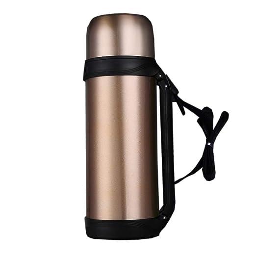 YLR 1 litro Botella de Agua Caliente al Aire Libre 304 de ...