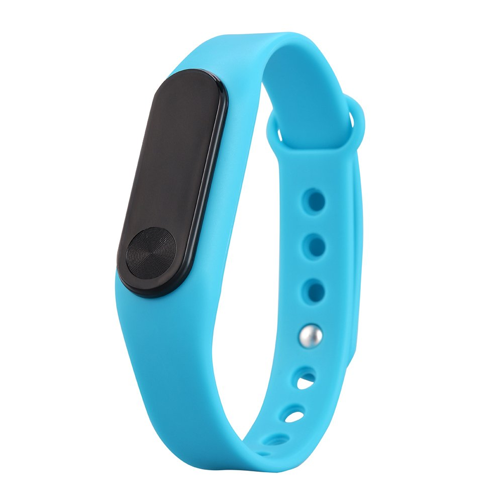 YiRong® Bluetooth 4.0 Fitness Tracker, IP65 resistente al agua Smartwatch con monitor de ritmo cardíaco, podómetro, contador de calorías para el ...