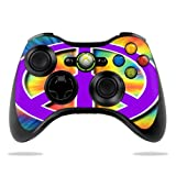 Protective Vinyl Skin Decal Cover for Microsoft Xbox 360 Controller wrap sticker skins Hippie Time
