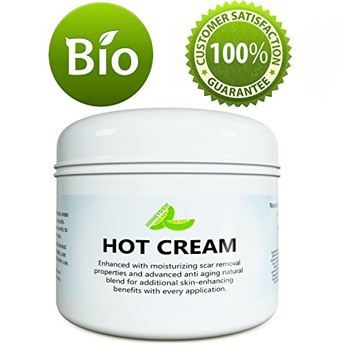 Hot Cream for Belly Fat - Antioxidant Slimming Cream for Men & Women with Anti Aging & Scar Fading Benefits - Anti-Cellulite Moisturizer for Dry Skin With Essential Oils Lavender Rosemary & Oregano
