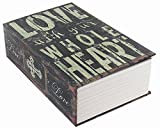 HENGSHENG Dictionary Secret Book Hidden Safe With Key Lock Book Safe Love Style Medium …