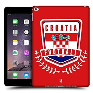 Head Case Designs Croatia Football Crest Protective Snap-on Hard Back Case Cover for Apple iPad Air 2