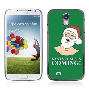 YOYOSHOP [Funny Santa Is Coming ] Samsung Galaxy S4 Case