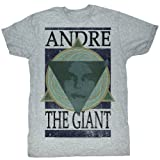 Andre The Giant WWE Andre Geometric Adult T-Shirt Tee