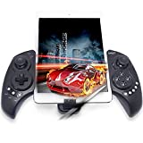 Cheap Megadream Android Bluetooth Gamepad, Wireless Telescopic Game Pad Joystick Controller for Smartphone & Tablet PC Samsung Galaxy S8+ S8 S7Edge S6 S5 Note 8 6 HTC One Sony Xperia LG Moto – Up to 10 inch