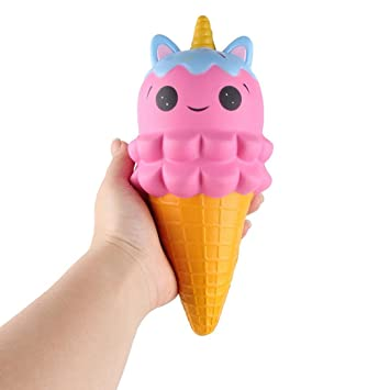 Mobile Phone Accessories Antistress Squishy Slow Rising Ice Cream Cute Kawaii Soft Jumbo Food Cone Bread Pendant Toys For Kids Adults Relieves Stress Clear And Distinctive Cellphones & Telecommunications
