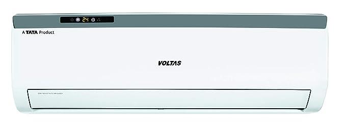Voltas 1.5 Ton 3 Star Split AC  Copper 183EZA White  Air Conditioners