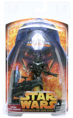 - Star Wars: Revenge of the Sith Utapau Shadow Trooper (Super-Articulated) Action Figure