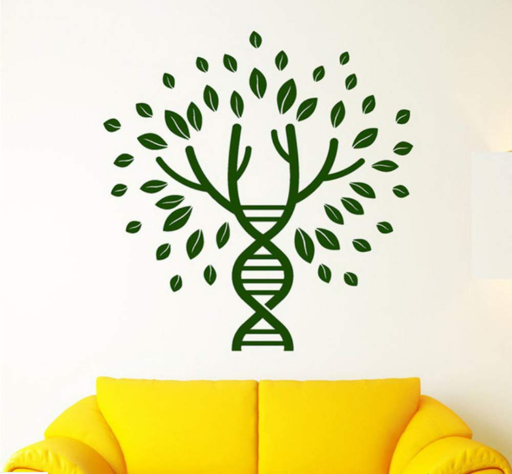Árbol de la vida ADN Espiral Género Sanguínea Pegatina Dormitorio ...