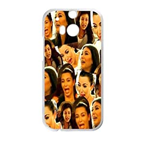 Kim Kardashian for HTC One M8 Cell Phone Case & Custom Phone Case Cover R31A652144