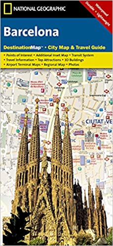 Barcelona national geographic destination city map national flip to back flip to front gumiabroncs Gallery