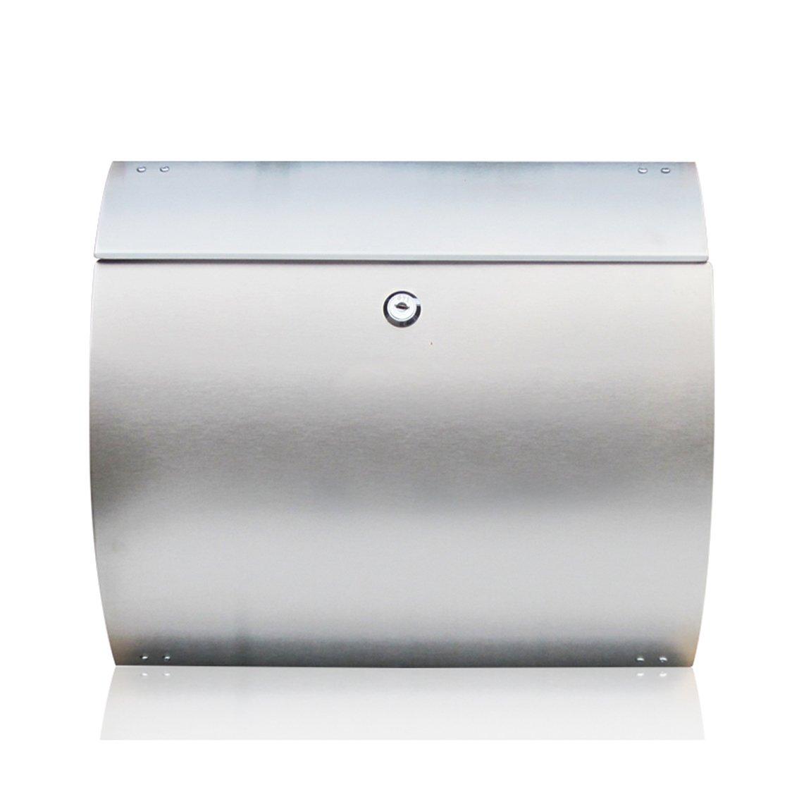 LRW ステンレス製の郵便箱屋外ヨーロッパのヴィラレターボックス   B07CVTSYCY