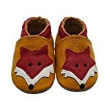 Mejale Baby Shoes Soft Sole Leather Crawling
