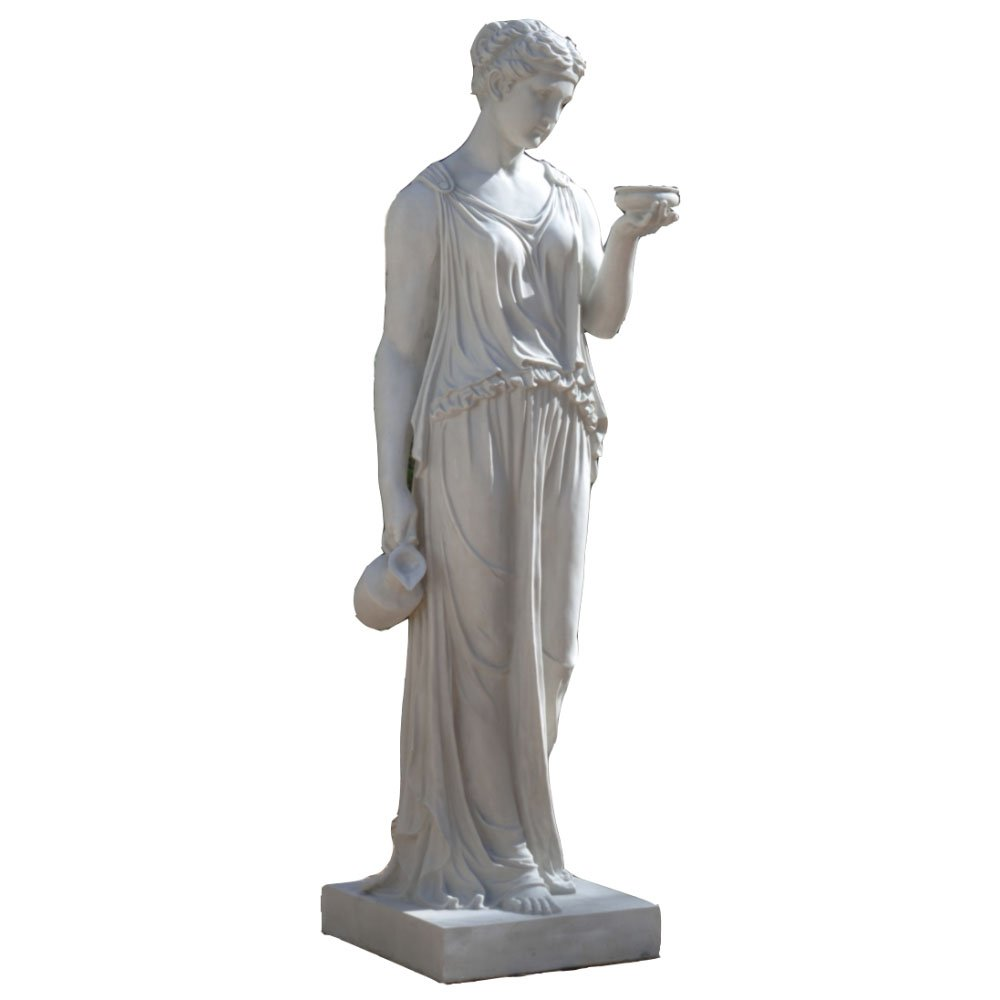 Amazon.com: Design Toscano Hebe, The Goddess Of Youth Bonded Marble Resin  Statue: Home U0026 Kitchen