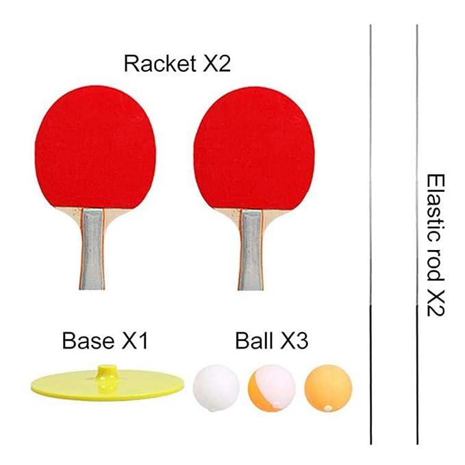 JIAYOYO Raqueta de Tenis de Mesa interactiva para Padres e Hijos ...