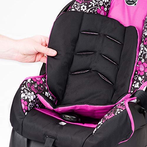 Evenflo Vive Travel System with Embrace Infant Car Seat, Daphne