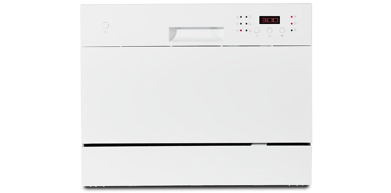 MEDION MD 16698 lavavajilla Encimera 6 cubiertos A+ - Lavavajillas (Encimera, Blanco, Compacto, Blanco, Botones, Canasta): Amazon.es: Hogar