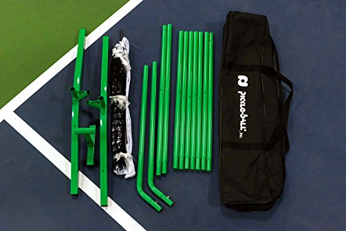 3.0 Portable Pickleball Net System (Set Includes Metal Frame and Net in Carry Bag)