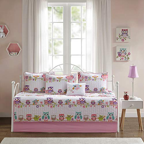 Daybed Comforters Kids - Mi Zone Kids Wise Wendy Daybed Set, Pink