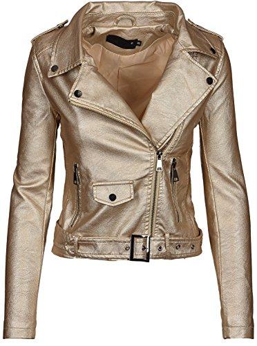 Femme Manches Golden Longues Or Blouson Selection Brands wqzS76XZ