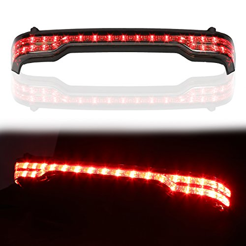LED King Tour-Pak Brake/Turn/Tail Trunk Box Wrap-around Lamp Light Kit For Harley King Tour Pack
