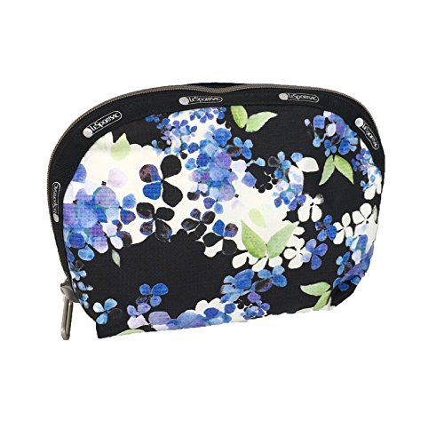 LeSportsac Essential Half Moon Dome Cosmetic Case, Flower (Moon Cluster)