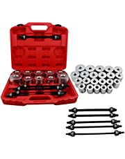 huigou HG® 27PCS Silent Almacenamiento Extractor Bush and Bearing Press and Pull Sleeve Insertion CA08Tool Seal Kit Removal Cars Nuevo