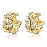 Willow Leaf Earrings 14 K Gold