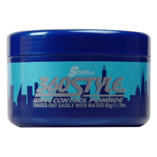 Wave Control Pomade - Luster's S-Curl 360 Style, Wave Control Pomade 3 oz