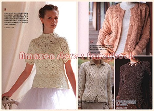 45dd2f24524729 Haute Couture Knitting Ladies Sweater Knit Patterns SP Feature 2 - Out Of Print  Japanese Knitting