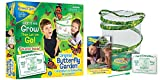 Insect Lore Butterfly Growing Kit Toy - Includes Voucher Coupon for 5 Live Caterpillars to Butterflies - SHIP LATER
