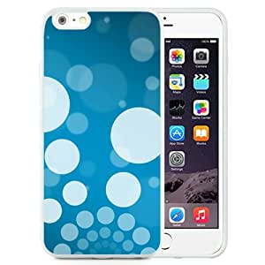 Background Minimal blue white (2) Silicone TPU iPhone 6plus 5.5 Inch Protective Phone Case