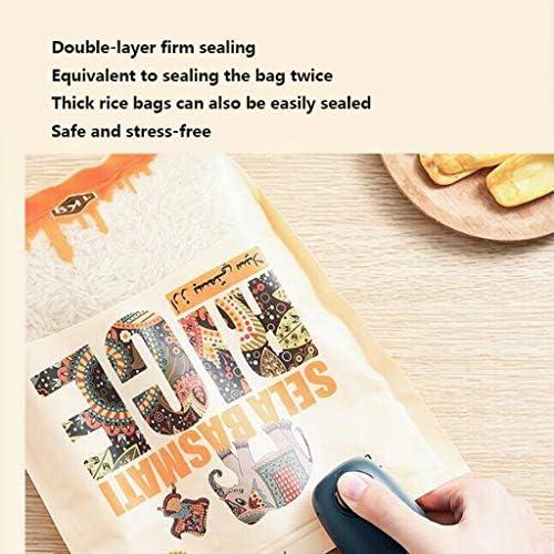 JHEY Scellant Rechargeable Machine Portable Mini Sac Petite Maison operculeuse Snack Sac en Plastique Frais de Maintien