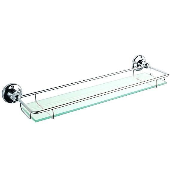 Badezimmerregal, Glas, 1 Stück: Amazon.de: Küche & Haushalt
