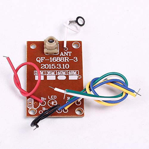IS Icstation 27Hz Simple 4 Channel Radio RC Transmitter