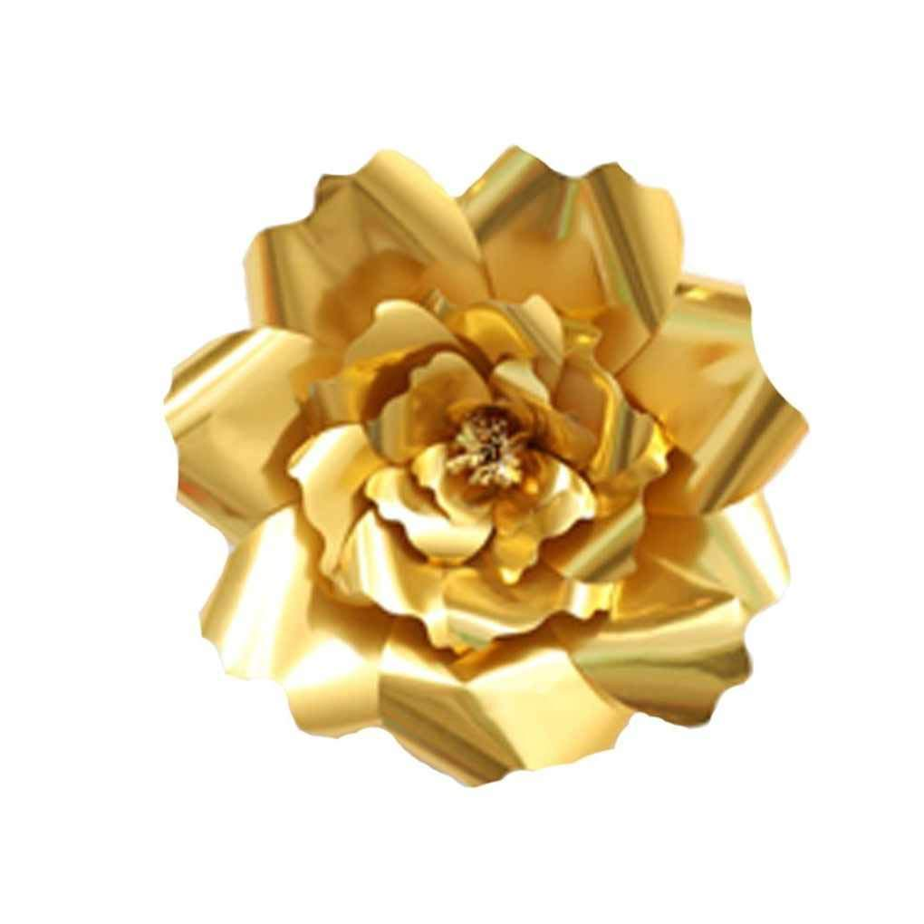 Provide The Best 1pcs//2pcs 20cm 30cm DIY Paper Flowers Children Photo Background Artificial Flower Wedding Birthday Party Home Wall Decoration