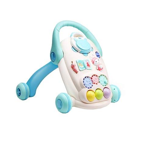 LTSWEET Andadores para Bebé con Música Altura Ajustable Bebé ...
