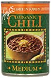 Amy's Organic Chili, Light in Sodium Medium, 14.7 Ounce